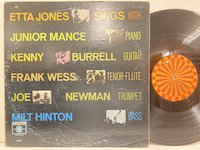 Etta Jones / Sings With Junior Mance And Kenny Burrell