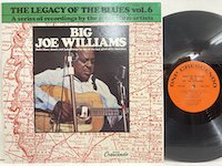 Big Joe Williams / Legacy Of The Blues Vol6