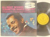 Hampton Hawes / All Night Session 3