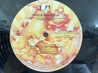 Karla Garrison / This Could Be the Night