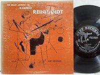 Django Reinhardt / the Great Artistry