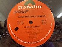Alton McClain / It Must Be Love