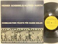 Heiner Goebbels Alfred Harth / Hommage