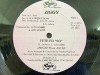 Ziggy / Fete Fo So