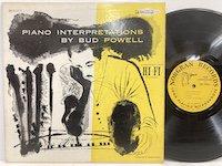 Bud Powell / Piano Interpretations