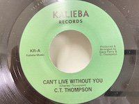CT Thompson / Can't Live without You