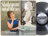 Cleo Laine / Shakespear and All That Jazz