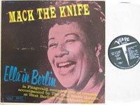 <b>Ella Fitzgerald and Paul Smith quartet/Mack The Knife('5-)</b>