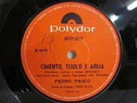 <b>Pedro Paulo / Cimento Tijolo e Areia</b>