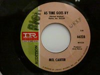 <b>Mel Carter / As Time Goes By - Look To The Rainbow</b>