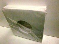 薄紙 7 インチ用 白スリーブ 内袋 インナースリーブ