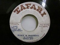 <b>Little Roy / Peace & Harmony - Tribal War</b>