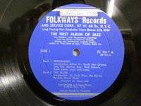<b>Jelly Roll Morton, Bunk Johnson …/VA First Album of Jazz Fc7312</b>