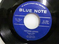 <b>Three Sounds スリーサウンズ Tracy's Blue - Don't Blame Me 45-1756</b>