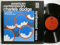 <b>Charles Dodge / Synthesized Voices</b>