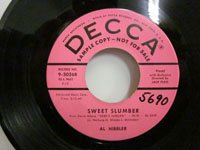 <b>Al Hibbler / Because of You - Sweet Slumber</b>