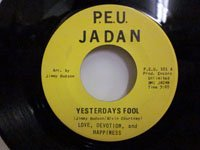 <b>Love Devotion and Happiness / Yesterdays Fool - Joy Sweet Joy</b>
