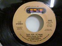 <b>Joe Quaterman / This Girl of Mine - I Feel Like This</b>
