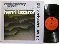 <b>Henri Lazarof / Orchesral Music</b>