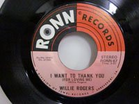 <b>Willie Rogers / My Love Keeps Growing Stronger - I Want to Thank You</b>