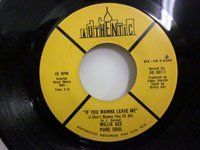 <b>Willie Gee / If You Wanna Leave Me - You Left Me Standing</b>