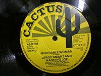 <b>Leroy Smart & Ranking Joe / Miserable Woman - Talking About Tomorrow</b>