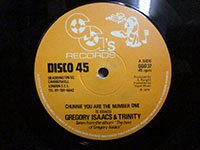 <b>Gregory Isaacs & Trinity / Chunnie You are the Number One - dub part two</b>