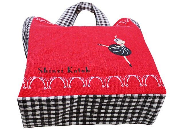 バレエレッスンバッグ Shinzi Katoh 「白鳥の湖」 トートバッグ バレエ柄 バレエ用品le2192