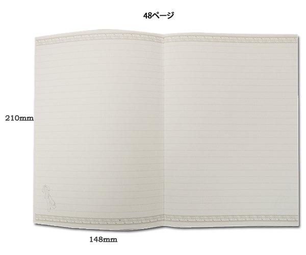 バレエ小物 Shinzi Katoh バレリーナ柄 A5サイズノート 7種類 日本製 バレエ柄 バレエ用品na2