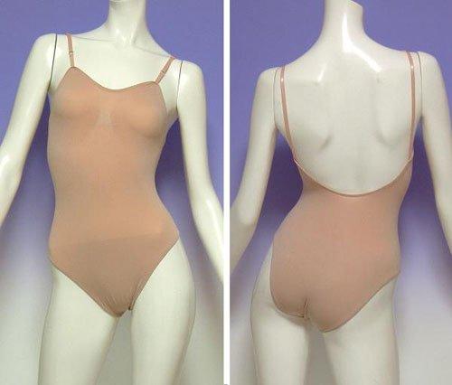 大人用バレエボディファンデーション 肩紐の調節可能!*soho-003