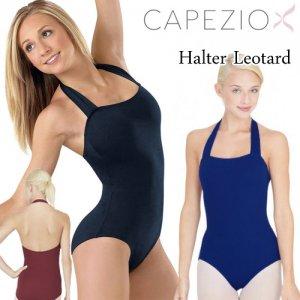 Capezio[カペジオ]ホルターネックレオタード全3色 シンプルバレエレオタード*tb150