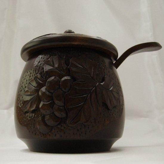 一房の葡萄・シュガーポット(Suger pot)/砂糖入れ