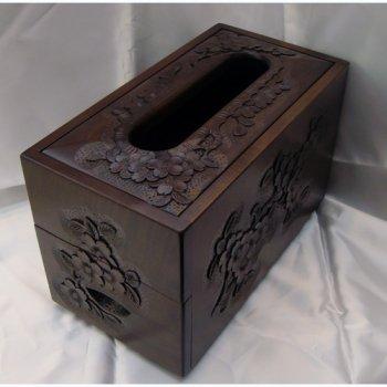 ティッシュボックス(薄型/小物入れ)