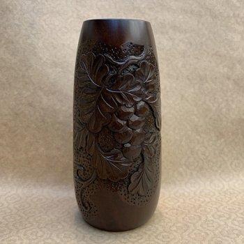 花瓶(細・中)ーぶどう(葡萄)