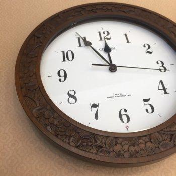 丸時計(電波時計)