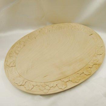 葡萄のパン切り台(木製カッティング・ボード)