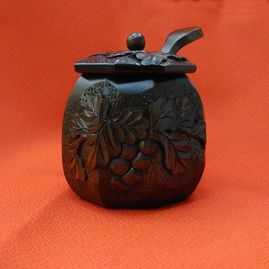 八角シュガーポット(Suger pot)/砂糖入れ