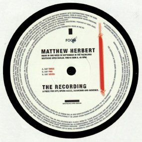 Matthew Herbert - The Recording