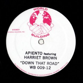 Apiento & Harriet Brown - Down That Road