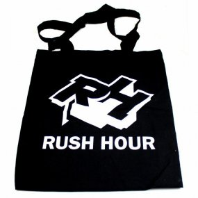 RUSH HOUR Tote Bag (Black)