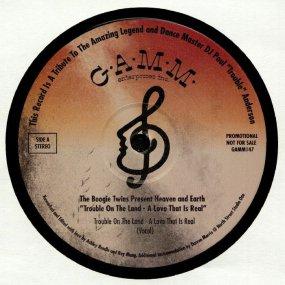 [試聴盤] The Boogie Twins pres. Heaven & Earth - Trouble On The Land - A Love That Real