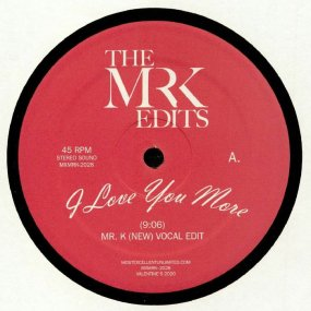 Mr. K - I Love You More
