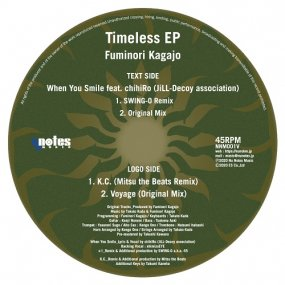 Fuminori Kagajo - Timeless EP (incl. Mitsu the Beats / SWING-O Remixes)