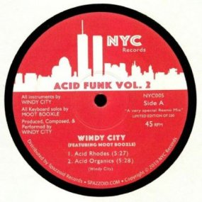 Windy City feat. Moot Booxle - Acid Funk Vol. 2
