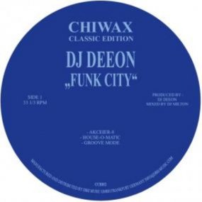 <img class='new_mark_img1' src='https://img.shop-pro.jp/img/new/icons5.gif' style='border:none;display:inline;margin:0px;padding:0px;width:auto;' />[USED] DJ Deeon - Funk City