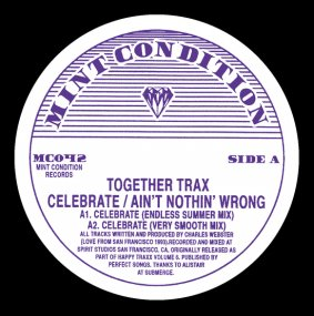 Together Trax - Celebrate / Ain't Nothin' Wrong