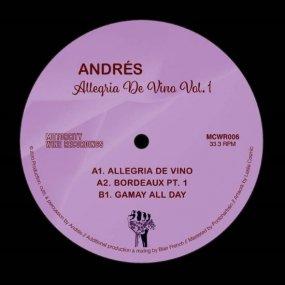 Andres - Allegria De Vino Vol. 1