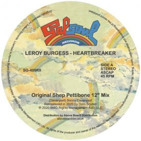Leroy Burgess - Heartbreaker (incl. Moplen Remix)