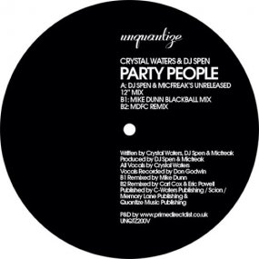 Crystal Waters - Party People
