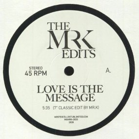 MFSB / Isaac Hayes - Love Is The Message / I Can't Turn Around (Edit by Mr. K)